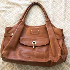Kate Spade 'Kent Stevie' Leather Bag in Natural